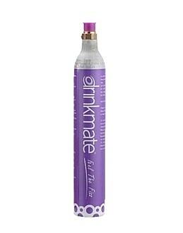 金時代書香咖啡 美國Drinkmate 410系列氣泡水機–專用氣瓶425g(0.6L)1支 食品級CO2鋼瓶 DR-CO2-425