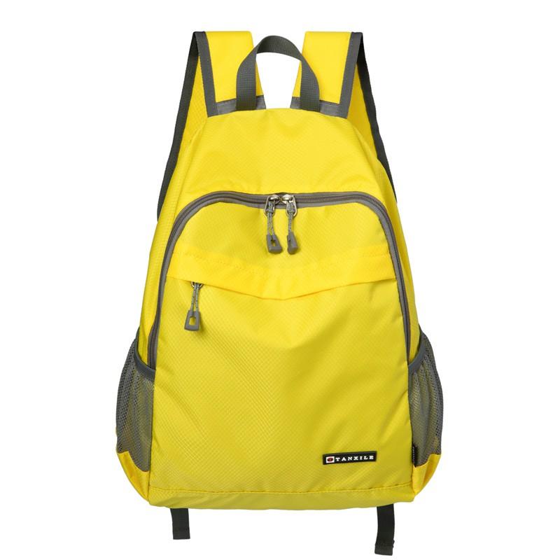 登山背包 皮膚包超輕便攜防水徒步旅行背包女後背包戶外運動男補課書包