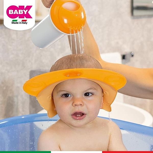 洗髮帽 OKBABY寶寶洗頭帽防水護耳嬰兒洗澡洗髪帽小孩淋浴帽神兒童洗頭器 麗人印象 免運