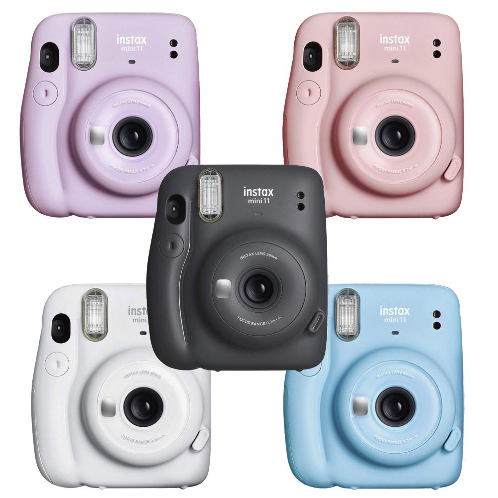 【原廠束口袋】FUJIFILM instax mini 11 拍立得 相機 (公司貨).