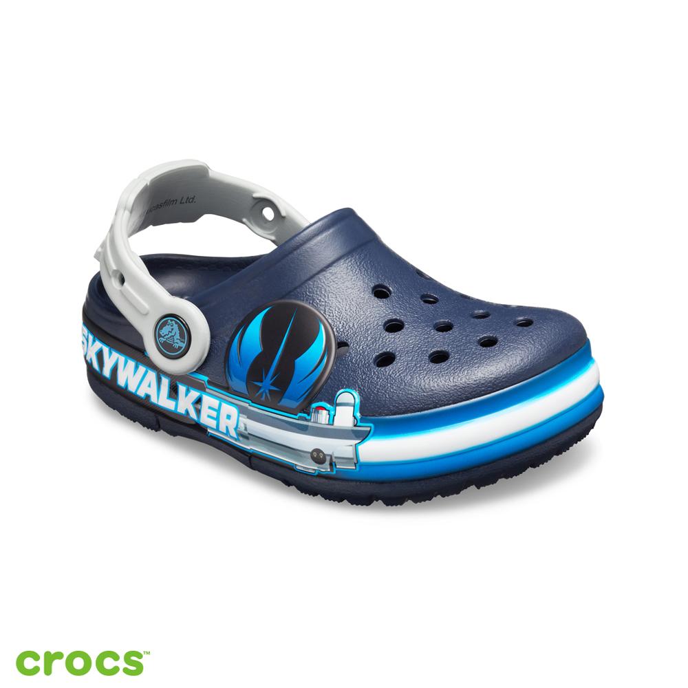 Crocs 卡駱馳 (童鞋) 趣味學院盧克·天行者酷閃小克駱格 206280-410