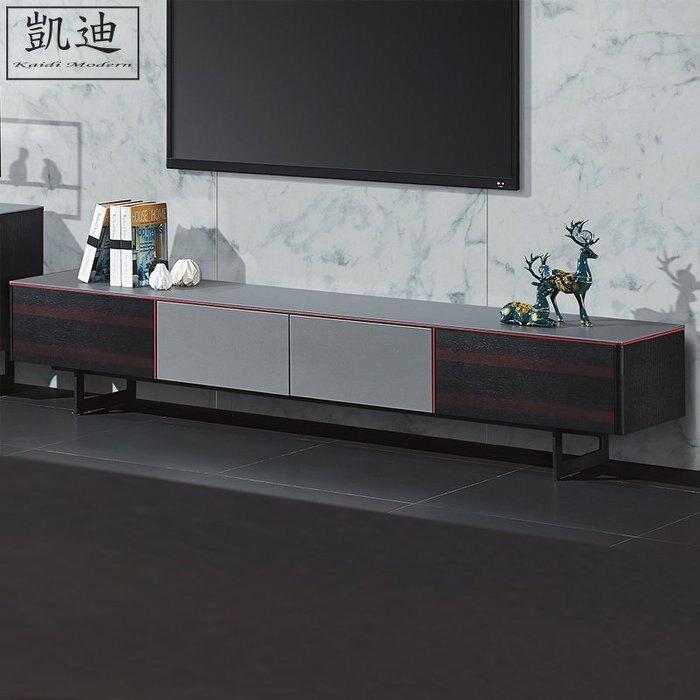 【凱迪家具】柏塔玻璃6.6尺長櫃/桃園以北市區滿五千元免運費/可刷卡