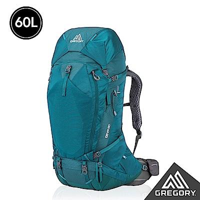 Gregory 女 60L DEVA登山背包 XS 安地卡綠