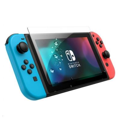 任天堂 Switch  高清透明 9H鋼化玻璃膜 螢幕保護貼-Switch透明*1