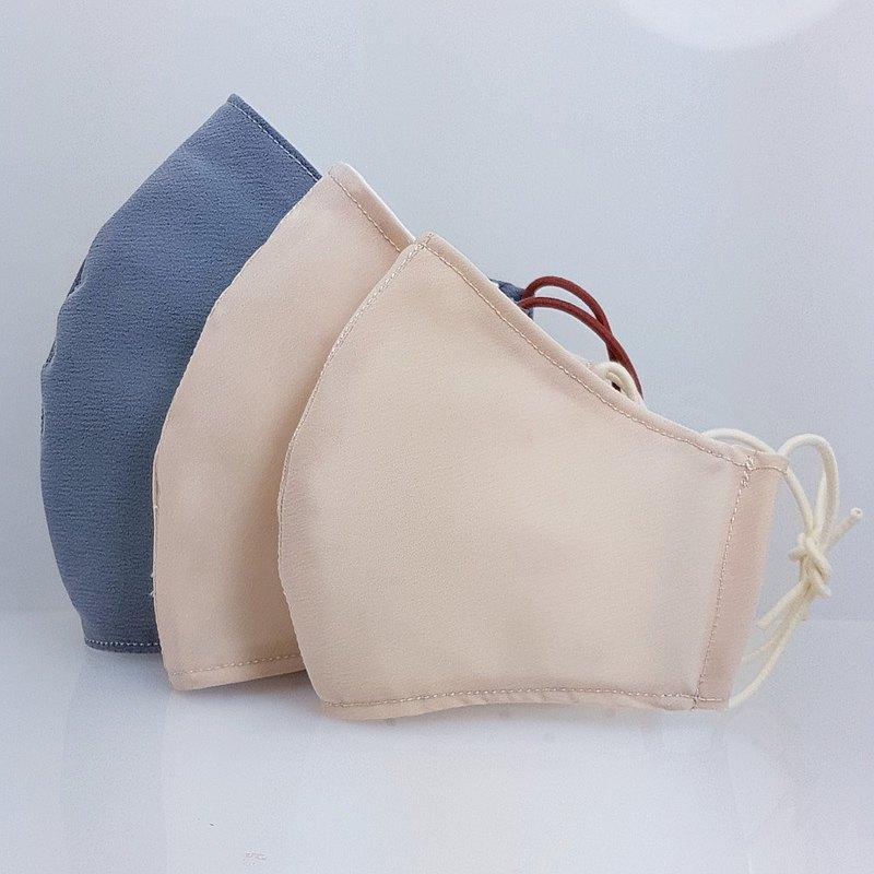 雨天防水 鼻樑壓條布口罩  防潑水布.三層布口罩套 口罩
