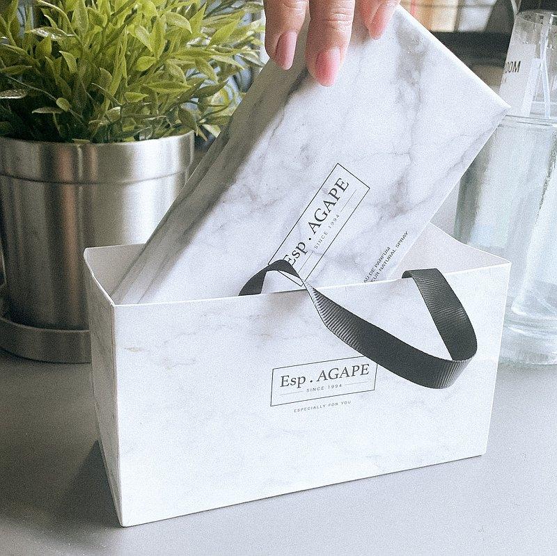 加購自家設計大理石小袋子 / Esp.AGAPE
