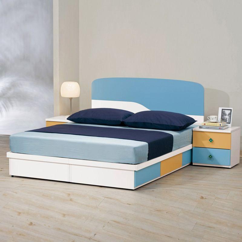 【MA133-2】艾文斯5尺床片型雙人床