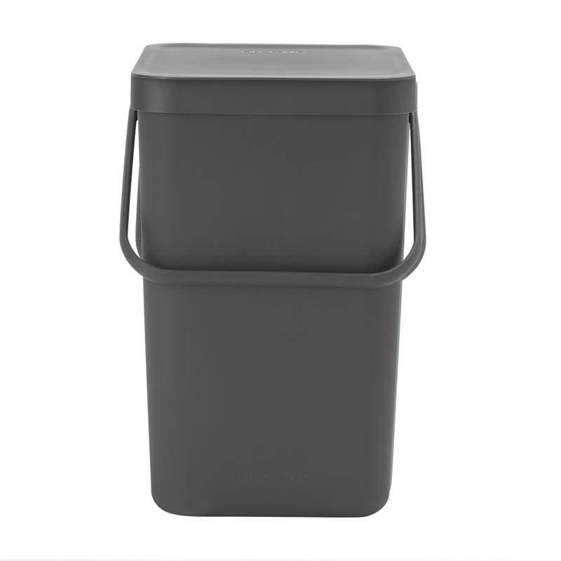多功能餐廚置物桶25L 冷杉綠