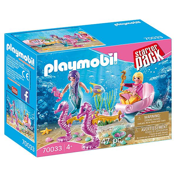 playmobil 美人魚與海馬車_PM70033