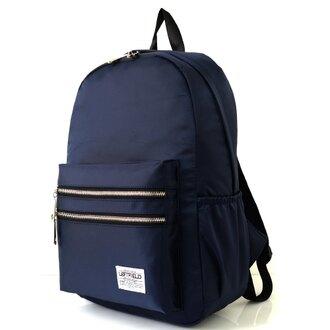 NEW STAR 日系簡約防水撞色拉鍊口袋後背包 BK242