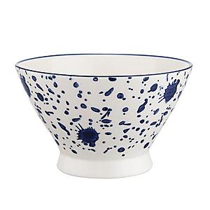 藍黛陶瓷5吋飯碗-潑點