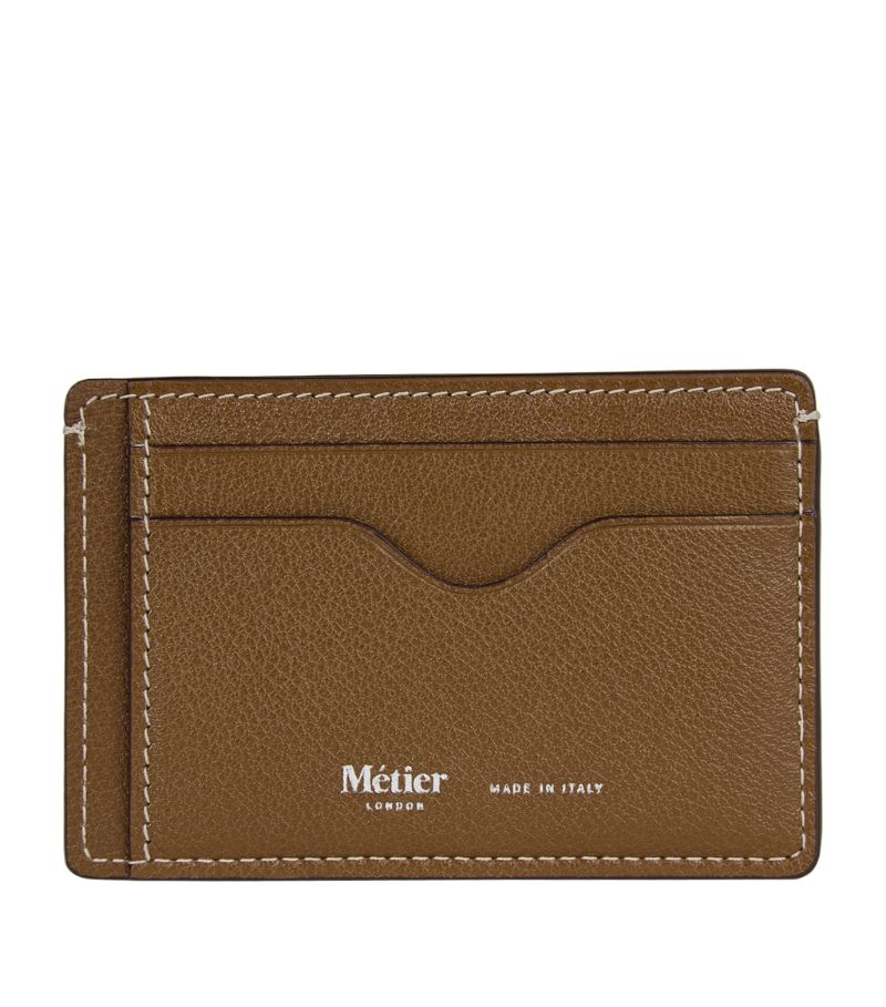 Metier London Buffalo Leather Card Holder