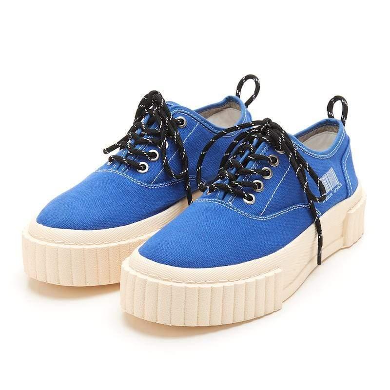 The I 子彈鞋 低筒鞋帶款 皇家藍色 40 Man