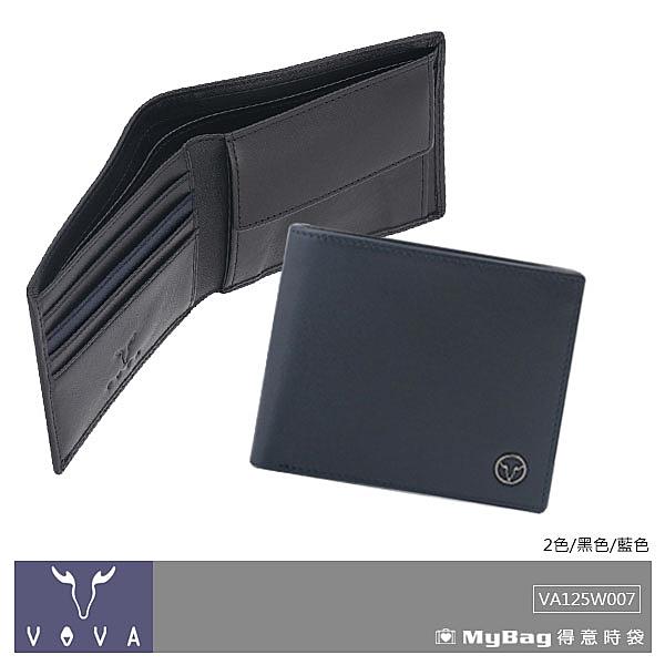 VOVA 沃汎 皮夾 艾登系列 4卡零錢袋 短夾 VA125W007 得意時袋