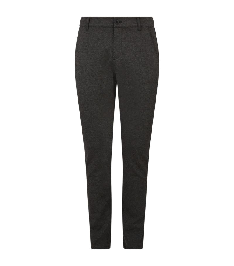 Paige Slim-Fit Knit Trousers