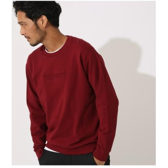【60%OFF】 アズールバイマウジー 3D LOGO EMBROIDERY PULLOVER メンズ D/RED3 M 【AZUL BY MOUSSY】 【タイムセール開催中】