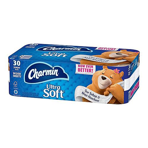 Charmin 超柔捲筒衛生紙 214張 X 30捲