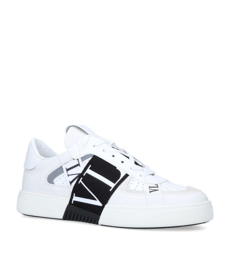 Valentino Valentino Garavani Vl7N Leather Sneakers