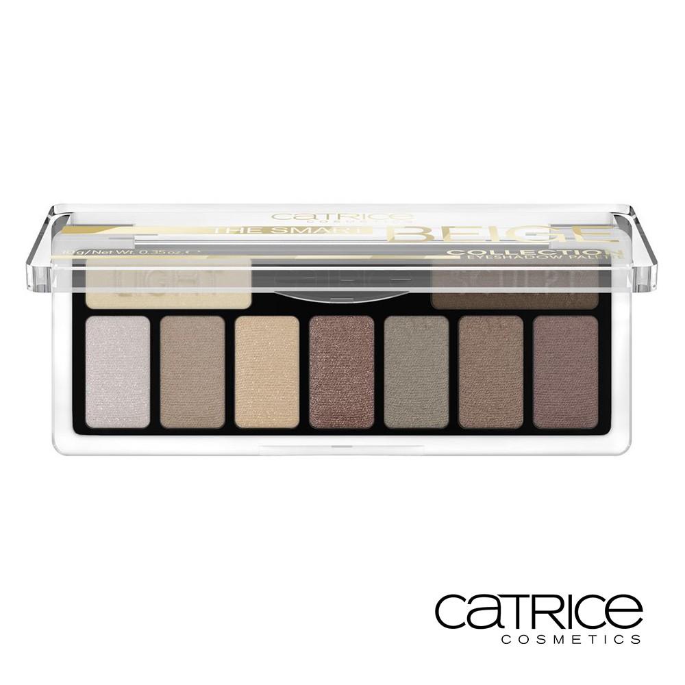 Catrice 卡翠絲 琥珀咖啡 經典9色眼彩盤 冷棕琥珀 10g