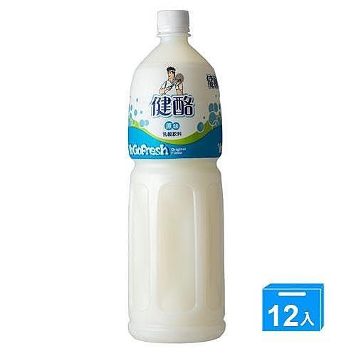 金車健酪乳酸飲料-原味1450ML*12【愛買】