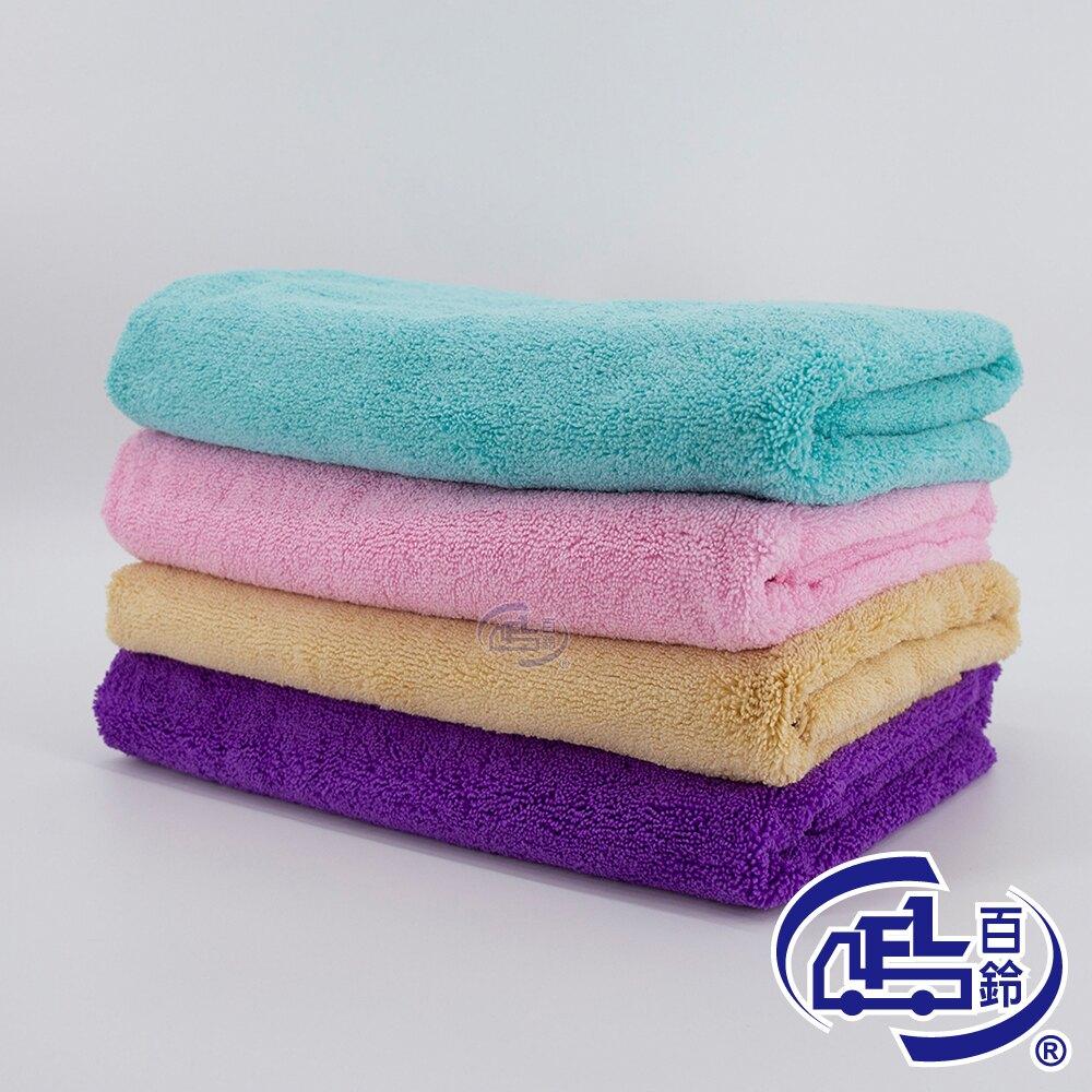 Aqua雪尼爾超乾爽柔膚巾(L號*4 毛巾)(顏色隨機出貨)