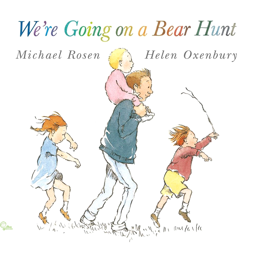 We're Going on a Bear Hunt (書+CD) Two Ponds版【禮筑外文書店】