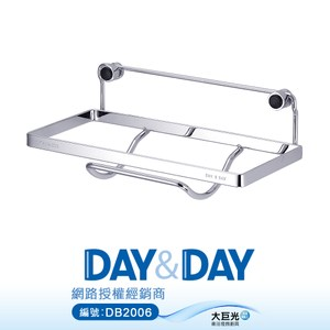 【DAY&DAY】不鏽鋼 單層紙巾架/活動式(ST3088CH)