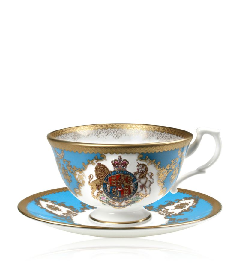 Harrods Coat Of Arms Teacup And Saucer