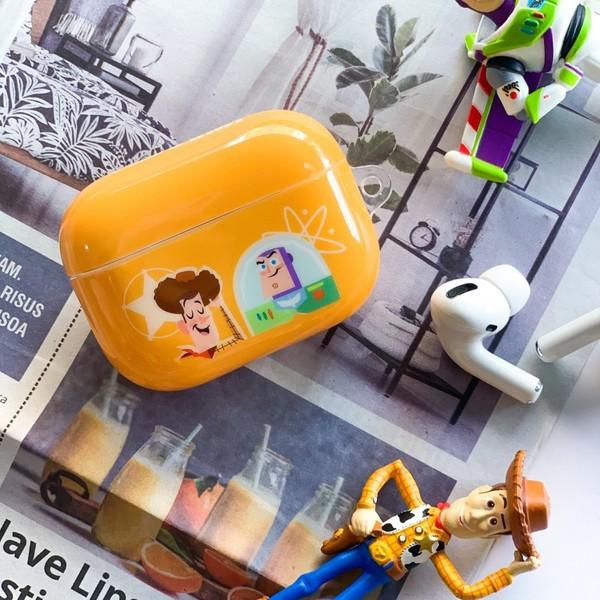 【Hong Man】迪士尼 系列 Airpods Pro耳機 保護套 玩具總動員 Buzz & Woody