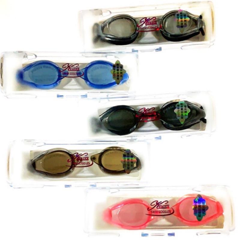 Quick 競賽型平光游泳眼鏡