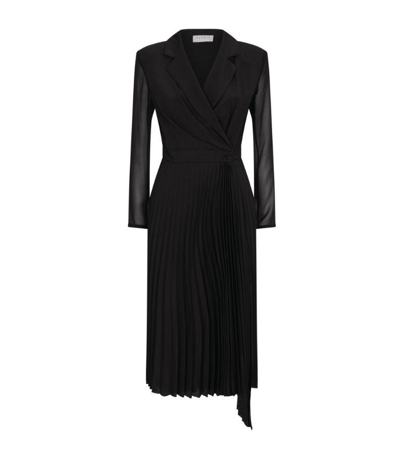 Sandro Paris Pleated Dress