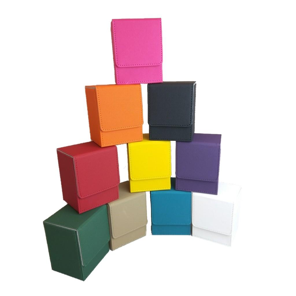 【瘋桌遊】皮製卡盒80+│桌遊周邊│適用魔法風雲會、寶可夢、MTCG、PTCG
