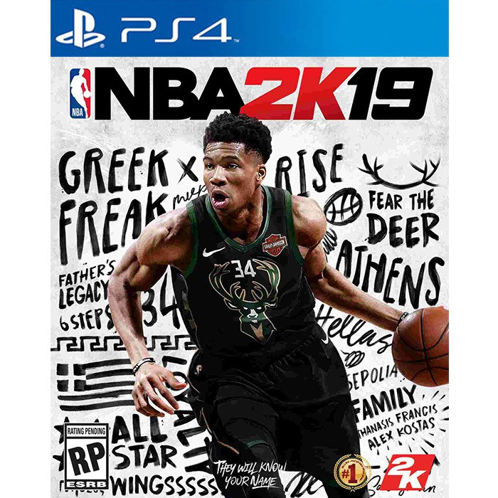 PS4遊戲 《NBA 2K19》中文版