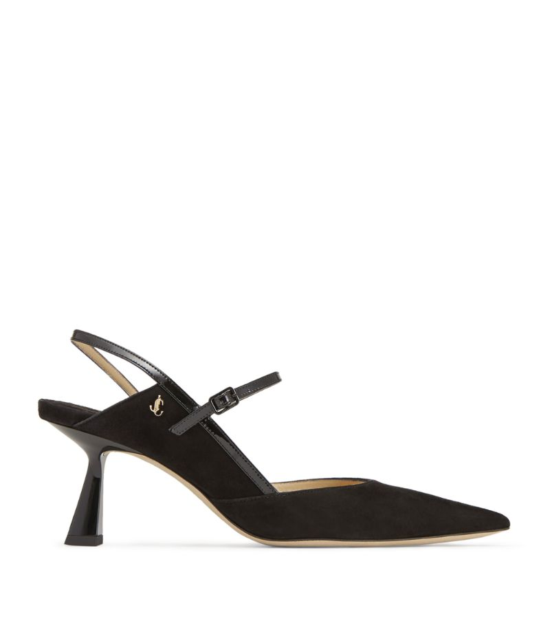 Jimmy Choo Ray 65 Suede Pumps
