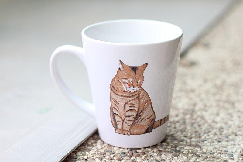 寵物杯子 杯墊 貓咪系列