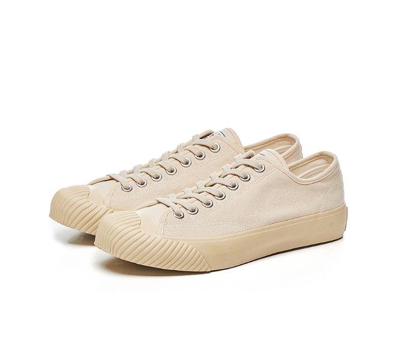 BAKE-SOLE_YEAST Ecru / 帆布鞋_Butter