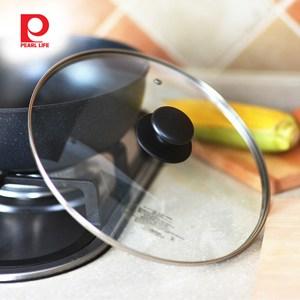 【日本珍珠金屬】耐熱玻璃鍋蓋-30cm