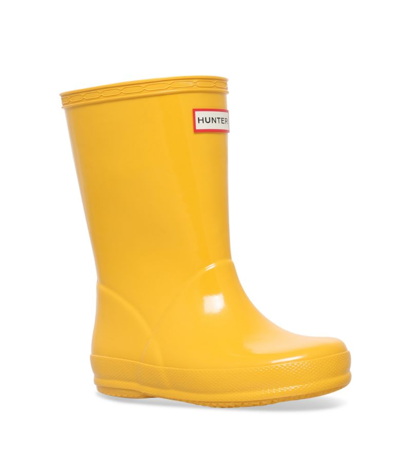 Hunter Kids First Gloss Welly Boots