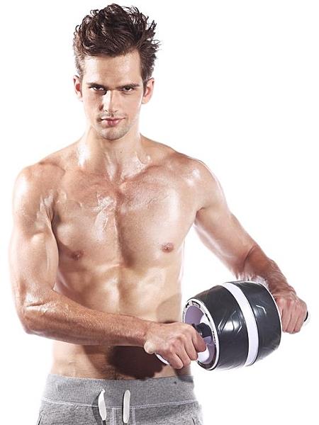 健腹輪Aubade自動回彈健腹輪健身器材家用男女腹肌輪減肚子靜音收腹滾輪 非凡小鋪
