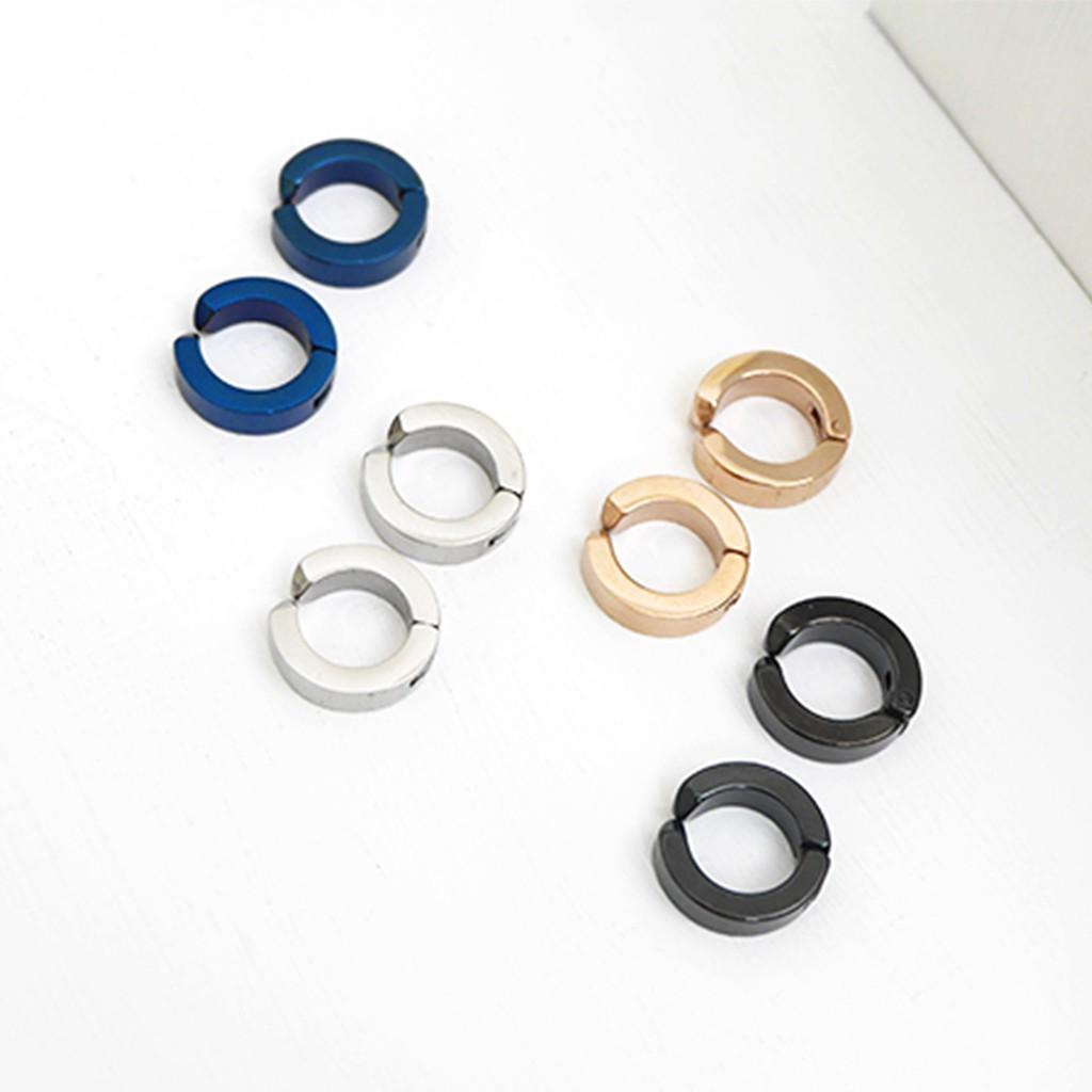 POPURE|簡約金屬夾式耳環/4色
