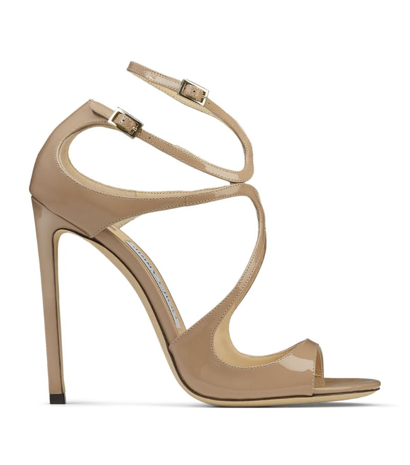 Jimmy Choo Lance 115 Patent Sandals
