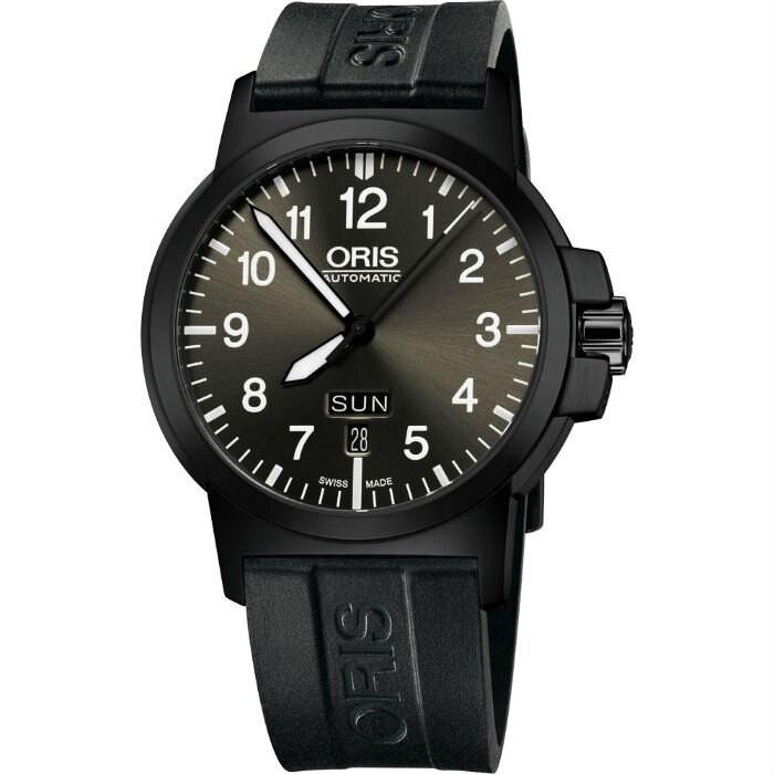 ORIS 豪利時 0173576414733-0742205B BC3系列 日曆星期運動腕錶 /黑面 42mm