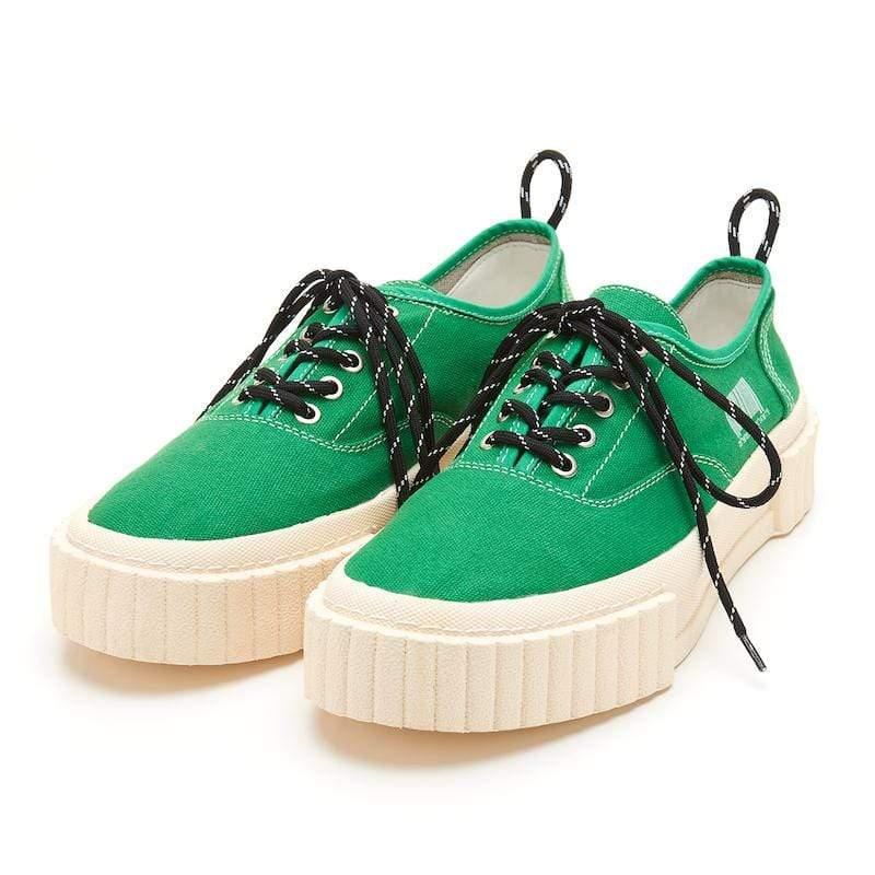 The I 子彈鞋 低筒鞋帶款 復古經典 綠色 42 Man