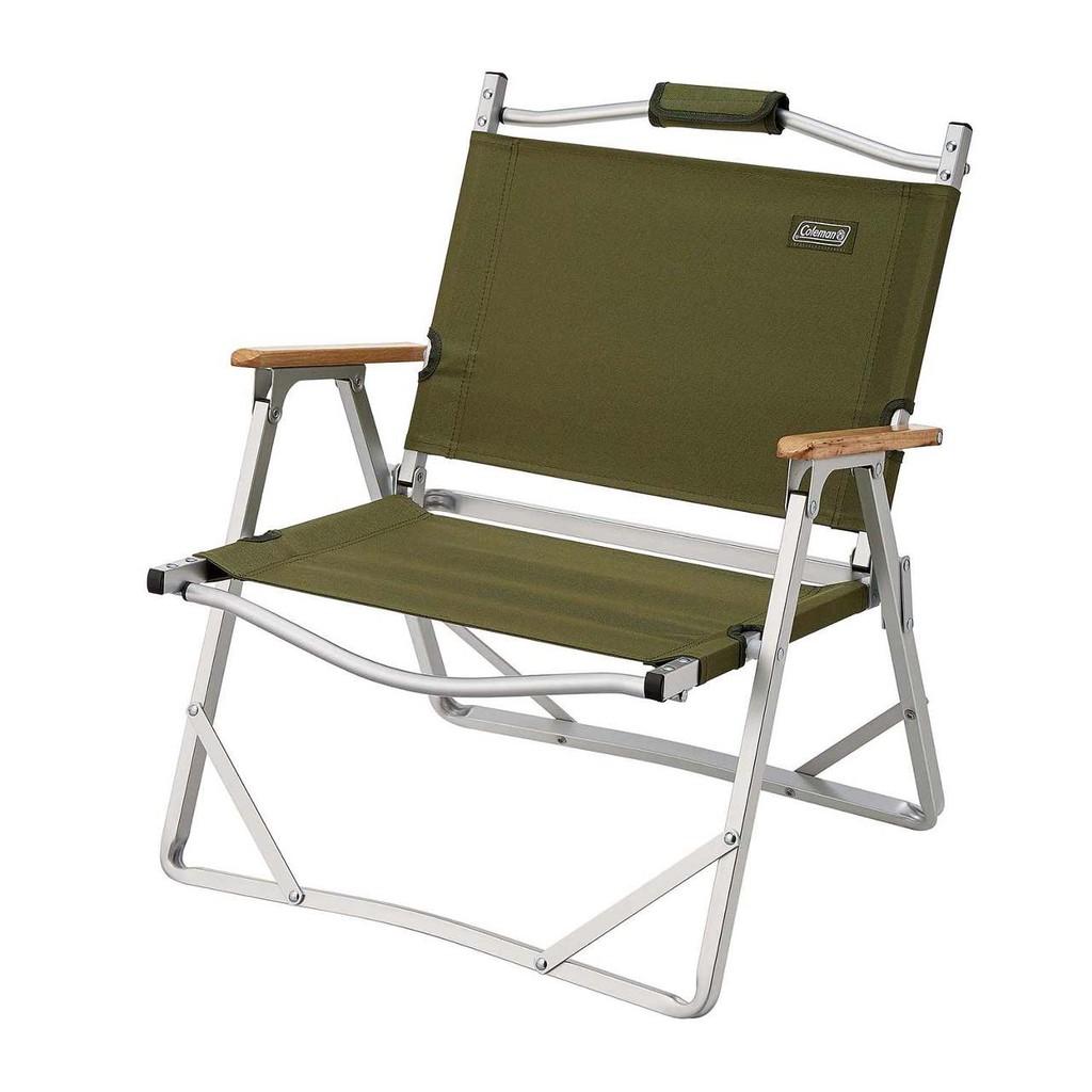 【Coleman】輕薄折疊椅/折合椅 戶外椅 綠橄欖CM-33562/淺灰CM-33561-早點名露營生活館