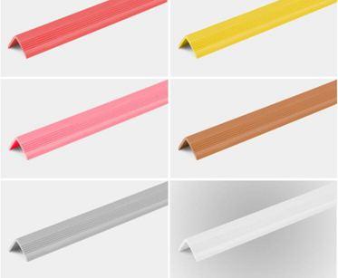 PVC幼兒園專用防撞條 墻角陽角包邊護角條 兒童防磕碰保護條