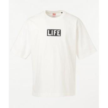 シェアパーク <LIFE>別注プリントS/ST メンズ ホワイト系 1 【SHARE PARK】