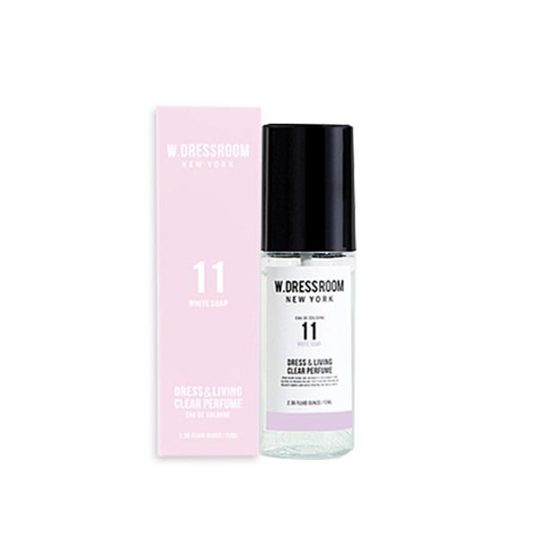 W.DRESSROOM 衣物居家香水噴霧#11純淨皂香 70ml