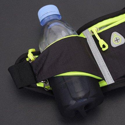 運動腰包 探路虎運動戶外跑步手機腰包多功能水壺包防水掛包貼身馬拉松腰帶『MY3696』