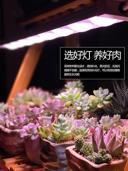 植物燈 科瑞LED植物生長燈全光譜多肉補光燈上色室內雨林缸盆栽微景觀燈 寶貝計畫
