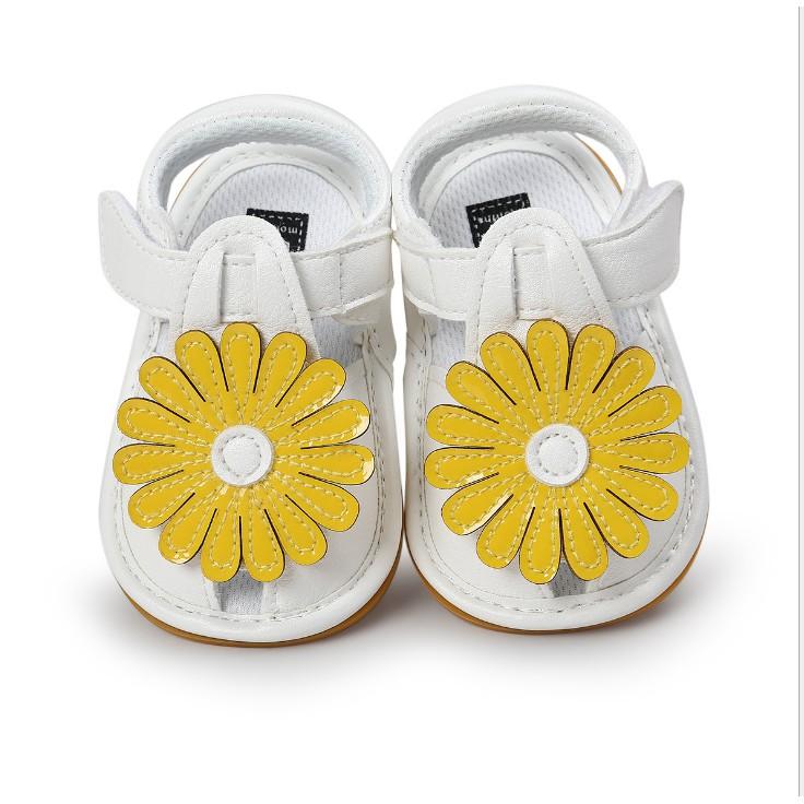 童鞋 嬰幼童寶寶鞋 亮面繡花學步鞋 膠底防滑嬰兒鞋 男童女童鞋 [DM商城]